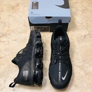 Nike Vapormax Run Utility Black Reflective Mens 11